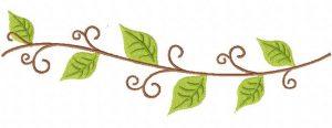 Leafy-Vine-Stitched-8-Inch