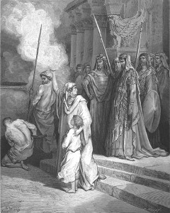 Blog Hannah courage of a mother Gustave Dore