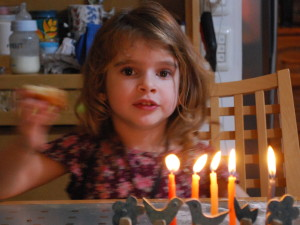 Hope of the future - Hanukkah 2014