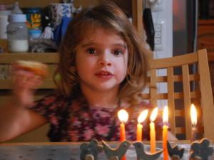 Hope of the future - Hanukkah 2014