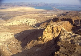 Aerial view of Masada. Courtesy of the Israel Tourism Ministry, www.goisrael.com
